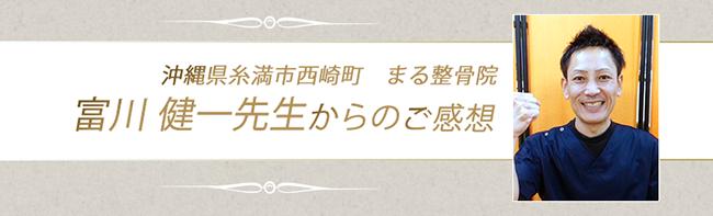 富川先生のご感想